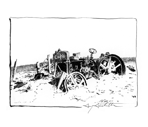 Dust Bowl Tractor