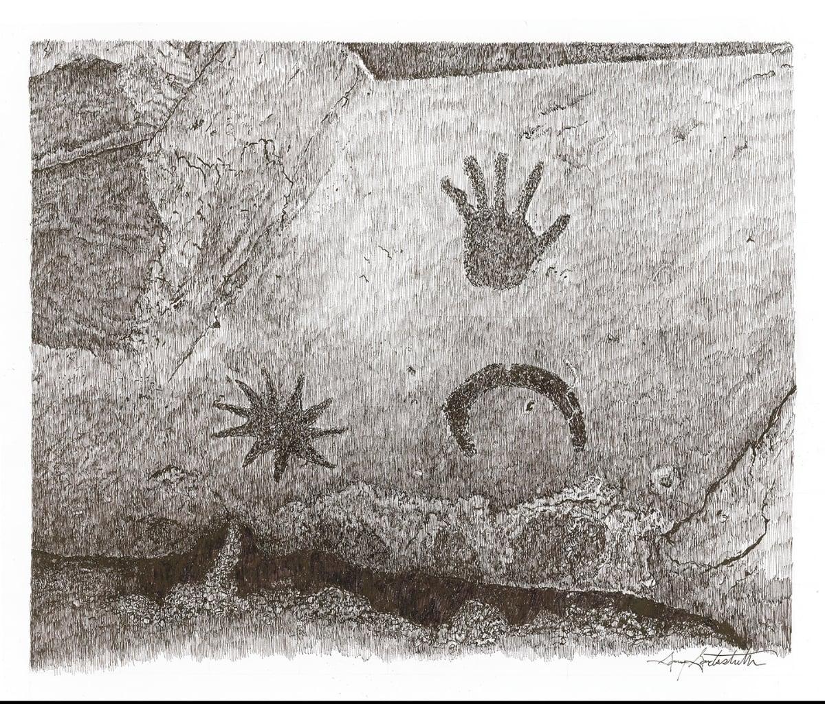 Chaco Moon, Star, Hand